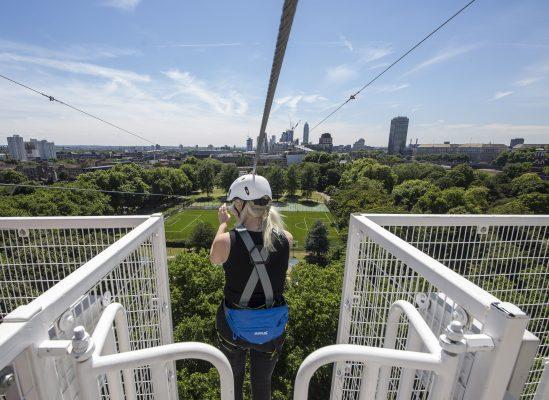 London's Zip Now attraction